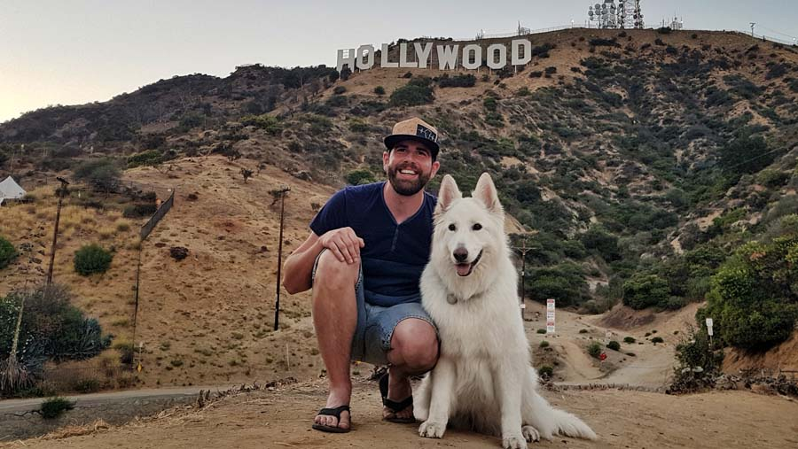 Mark and Mya's Adventure to Los Angeles, California
